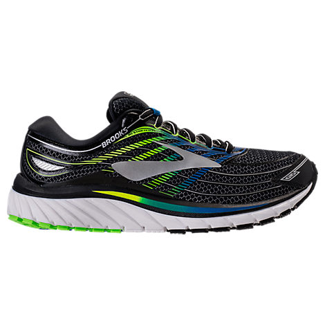 5673b3caf32 Brooks Men S Glycerin 15 Running Sneakers From Finish Line In  Black Electric Blu