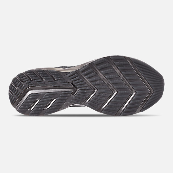 Bottom view of Men's Brooks Levitate 2 LE Running Shoes in Black/Grey/Gold