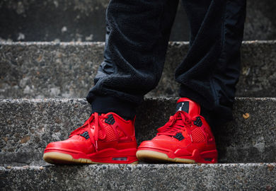 The Women's Air Jordan Retro 4 'Singles Day' Celebrates A Chinese Holiday