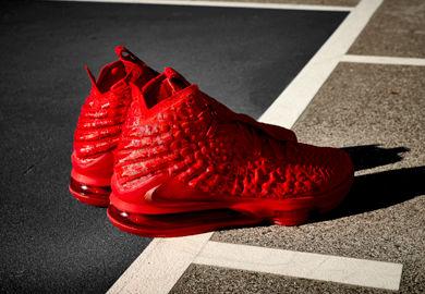 Lights, Camera, Action: Nike LeBron 17 'Red Carpet'