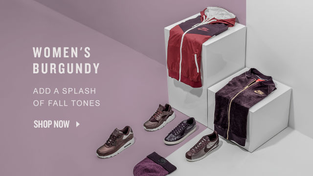 Women's Burgundy Styles. Shop Now.
