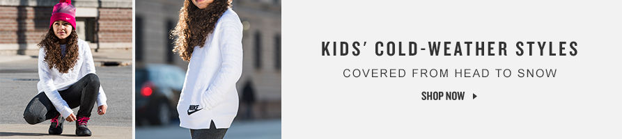 Kids' Cold Weather Styles. Shop Now.
