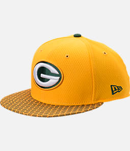 New Era Green Bay Packers NFL Sideline 9FIFTY Snapback Hat