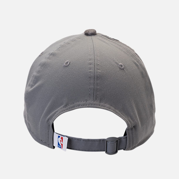 Back view of New Era Sacramento Kings NBA 2017 Draft Official On Court Collection 9TWENTY Adjustable Hat in Team Colors
