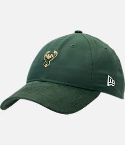 New Era Milwaukee Bucks NBA 2017 Draft Official On Court Collection 9TWENTY Adjustable Hat