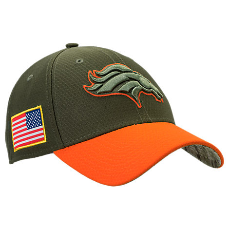 New Era Denver Broncos Nfl Salute To Service 39Thirty Fitted Hat ... e3797d003b5