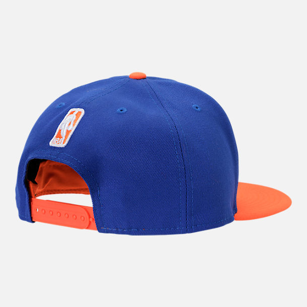 Alternate view of New Era New York Knicks NBA Y2K Double Whammy 9FIFTY Snapback Hat in Team Colors