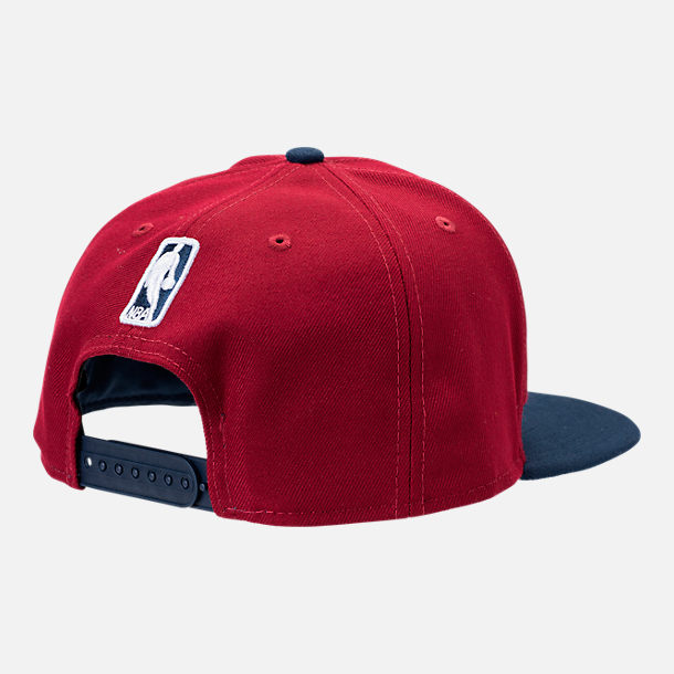 Alternate view of New Era Cleveland Cavaliers NBA Y2K Double Whammy 9FIFTY Snapback Hat in Team Colors