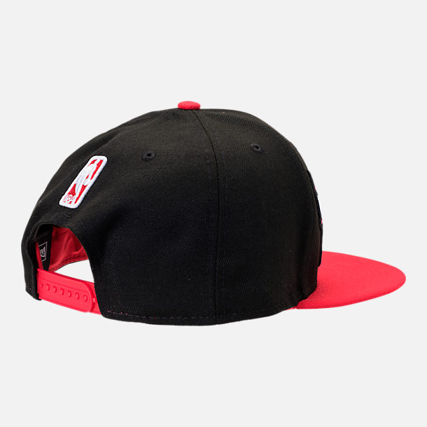 Alternate view of New Era Chicago Bulls NBA Y2K Double Whammy 9FIFTY Snapback Hat in Team Colors