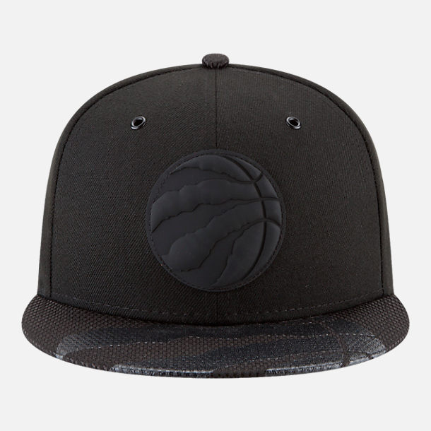 Back view of New Era Toronto Raptors NBA All-Star Series Snapback Hat in Black