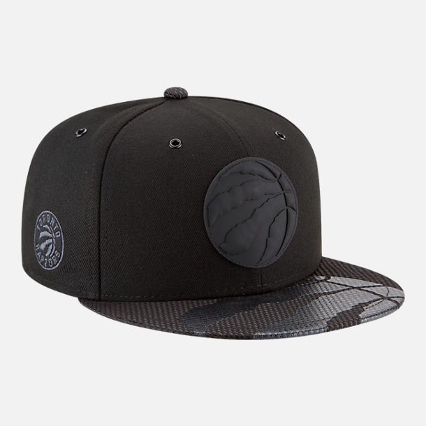 Alternate view of New Era Toronto Raptors NBA All-Star Series Snapback Hat in Black
