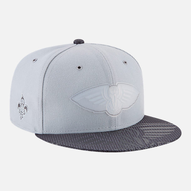 Alternate view of New Era New Orleans Pelicans NBA All-Star Series Snapback Hat in Grey