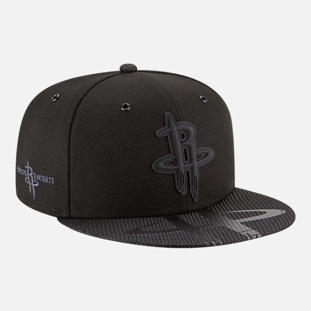 Alternate view of New Era Houston Rockets NBA All-Star Series Snapback Hat in Black