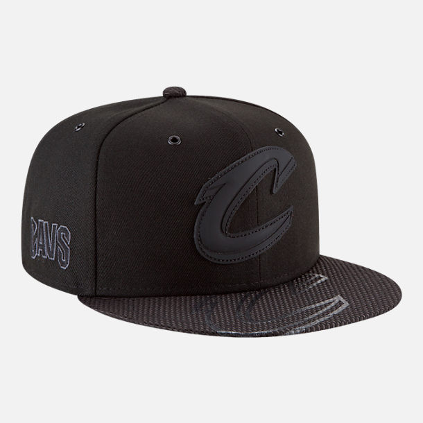 Alternate view of New Era Cleveland Cavaliers NBA All-Star Series Snapback Hat in Black