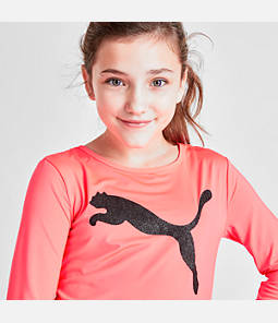 Girls' Puma Be Bold Long-Sleeve T-Shirt