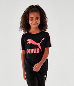 Girls' Puma Classics Archive Logo T-Shirt