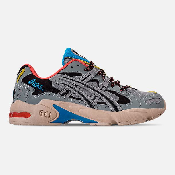 Right view of Men's Asics GEL-Kayano 5 OG Casual Shoes in Grey/Multi