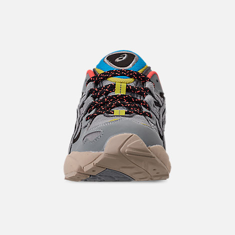 Front view of Men's Asics GEL-Kayano 5 OG Casual Shoes in Grey/Multi