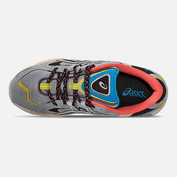 Top view of Men's Asics GEL-Kayano 5 OG Casual Shoes in Grey/Multi
