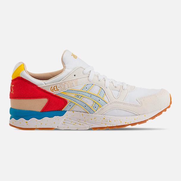 2f77b930ba55 Right view of Men s Asics GEL-Lyte V Casual Shoes in White Sky