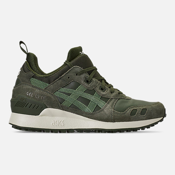 Right view of Men's Asics Gel-Lyte MT Casual Shoes in Forrest/Moss