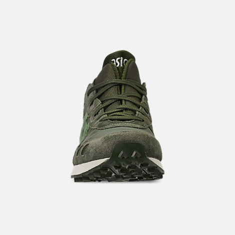 Front view of Men's Asics Gel-Lyte MT Casual Shoes in Forrest/Moss