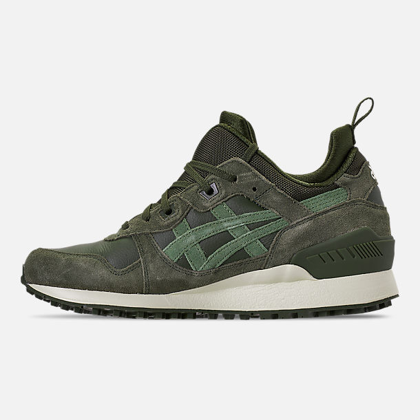Left view of Men's Asics Gel-Lyte MT Casual Shoes in Forrest/Moss