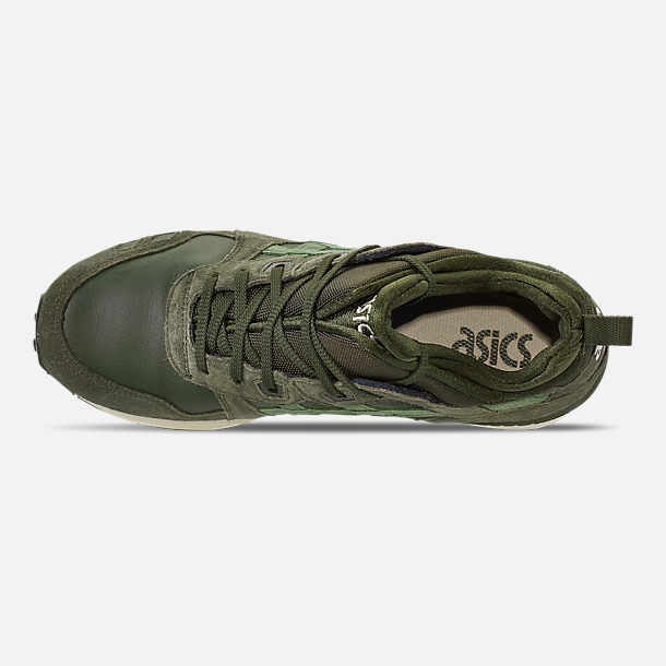 Top view of Men's Asics Gel-Lyte MT Casual Shoes in Forrest/Moss
