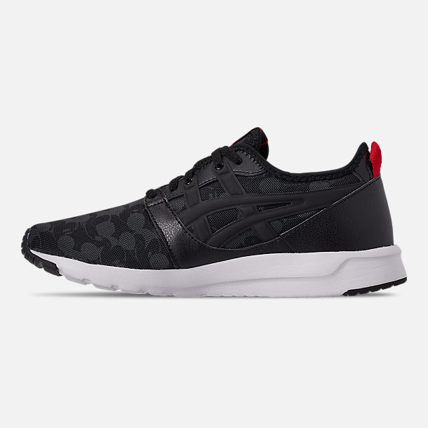 Left view of Boys' Big Kids' Asics Onitsuka Tiger x Disney GEL-Hikari Mickey Mouse Casual Shoes in Black