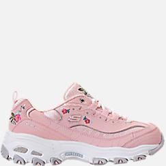 Women's Skechers D-Lites - Bright Blossoms Walking Shoes