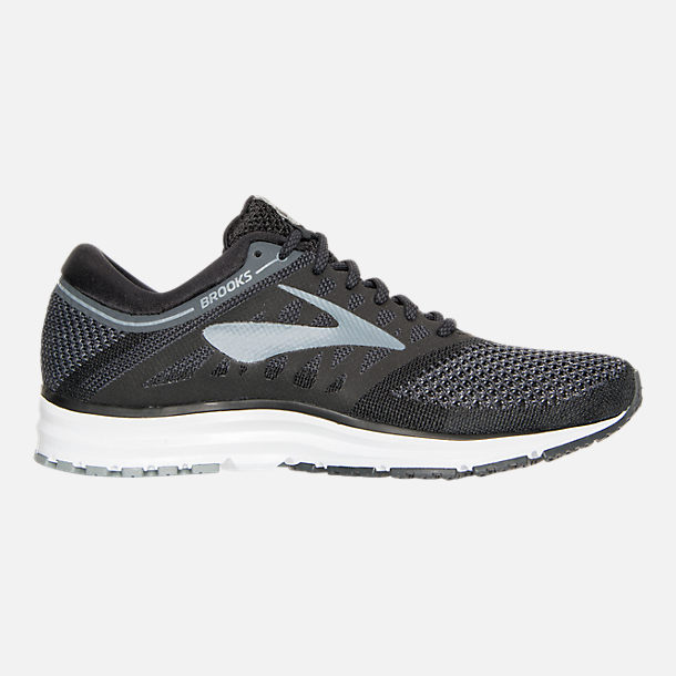 Right view of Women's Brooks Revel Running Shoes in Black/Anthracite/White