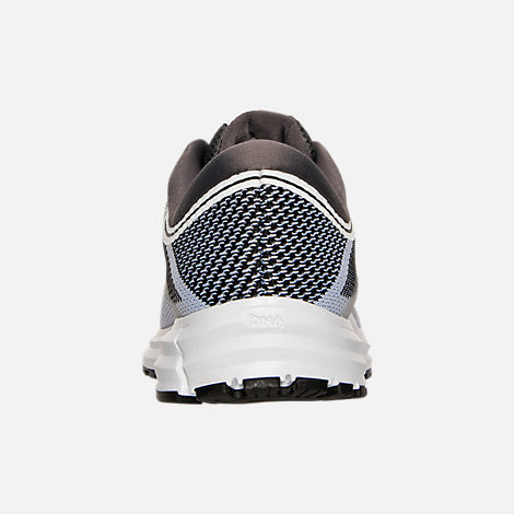 Back view of Women's Brooks Revel Running Shoes in White/Anthracite/Black