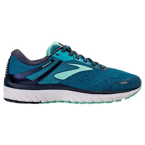 b21c3eefcb0 Brooks Women S Adrenaline Gts 18 Running Sneakers From Finish Line In  Navy Teal Mint