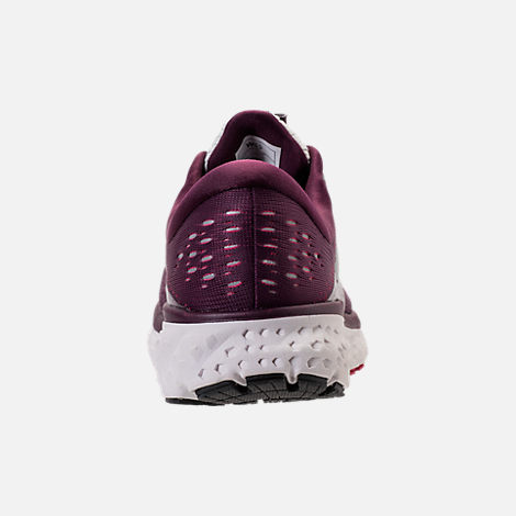 Back view of Women's Brooks Glycerin 16 Running Shoes in Purple/Pink/Grey