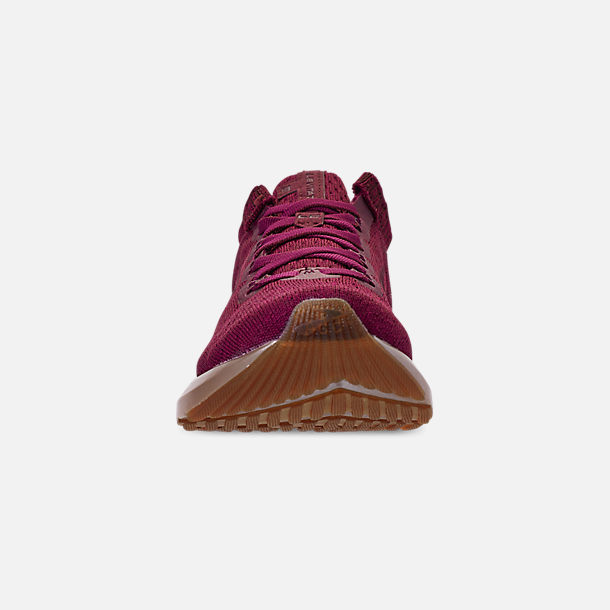 Front view of Women's Brooks Levitate 2 LE Running Shoes in Fig/Sangria/Metallic