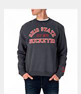 Men's J. America Ohio State College Crew Fleece Sweatshirt