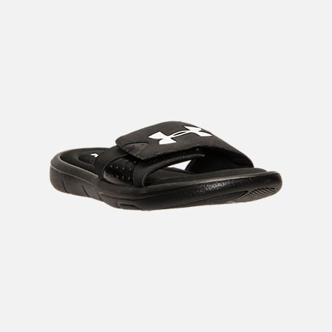 4cedc26ebec Three Quarter view of Men s Under Armour Ignite Slide Sandals