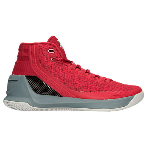 bbe597c85d37 three quarter view of mens under armour curry 3zero basketball shoes in  team royal white