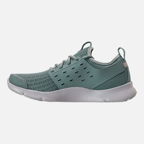 Left view of Men's Under Armour Drift RN Clutch Running Shoes in Fresco Green/Elemental