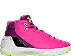 Girls' Preschool Under Armour Curry 3 Basketball Shoes