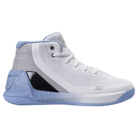 c8ab07b5bc47 three quarter view of mens under armour curry 3zero basketball shoes ...