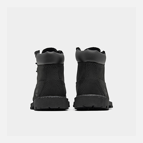 Left view of Kids' Toddler Timberland 6 Inch Classic Boots in Black