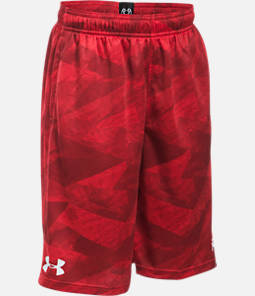 Boys' Under Armour SC30 Essentials Printed Basketball Shorts