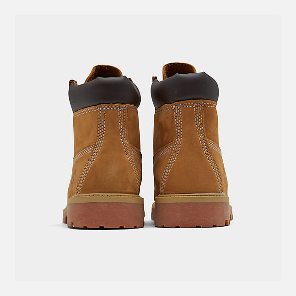 Left view of Big Kids' Timberland 6 Inch Classic Boots in Wheat
