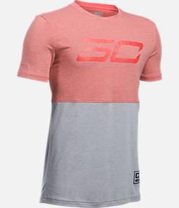 Boys' Under Armour SC30 Long Line T-Shirt