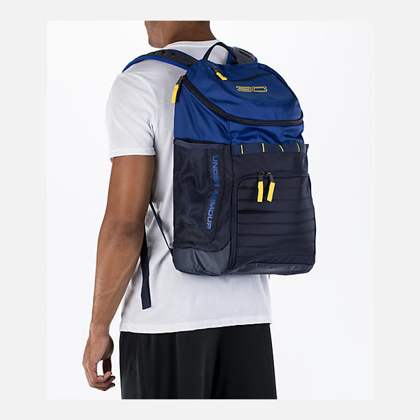 cb9e107c6 Alternate view of Under Armour SC30 Undeniable Backpack in Royal/Navy/Taxi