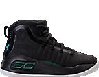 Boys' Preschool Under Armour Curry 4 Mid Basketball Shoes