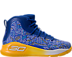 Boys' Preschool Under Armour Curry 4 Mid Basketball Shoes