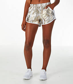 Finish Line Exclusive · Free Shipping. Women's Under Armour Fly-By Metallic  Printed Running Shorts