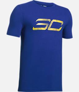 Boys' Under Armour SC30 Logo T-Shirt